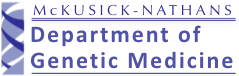 McKusick Nathans Institute of Genetic Medicine